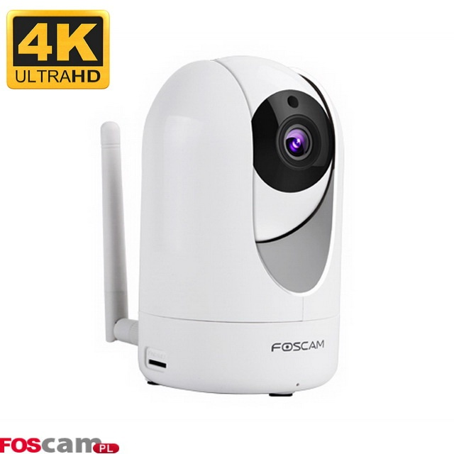 kamera IP 4MP Foscam R4 biała Ultra HD 2560×1440 pikseli