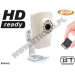 kamera IP WiFi B/G/N MODEL: BT-KI-CL-P2P-SD 2.8mm 720P
